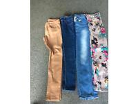 Jeans age 10/11 11/12 and 13 all good condition