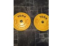 Rare Olympic weights metal