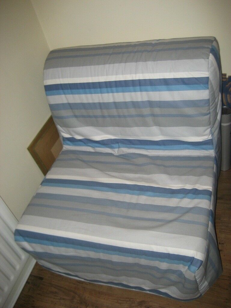 Single chair sofa bed ikea lycksele in castlereagh for Single bed sofa ikea