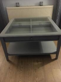 Grey Ikea Coffee Table