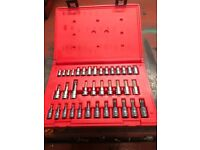 Snap on Allen and torx sockets