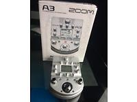 Zoom A3 Acoustic FX Processor