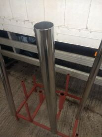 3 inch stainless steel exhaust stack