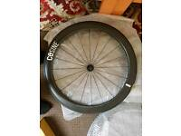 Carbon fibre bike wheels
