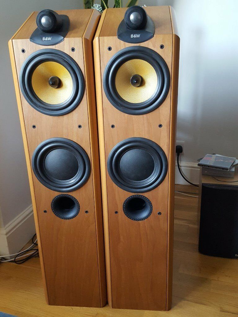 bowers wilkins b w cdm 7nt speakers w new tweeters in. Black Bedroom Furniture Sets. Home Design Ideas