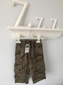 BNWT NEXT Baby Boys Combat Trousers 6-9 Months RRP £14