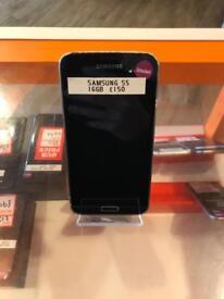 Samsung s5, 16gb, unlocked, black