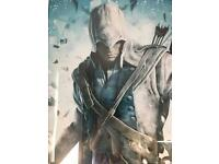 Assasin's Creed lll Large Framed Poster