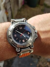 RARE Oakley crankcase 3 hand watch superb condition.