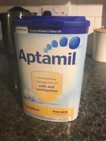 Aptamil comfort milk