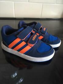 Adidas toddler trainers size 6