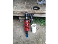 Dnm race shock crf 70 plus exhaust (not Clio, civic, Bmw)