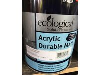 Vinyl mart acrylic paint cornflower white 5 litre durable