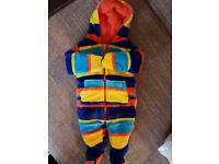 baby new colorfull snowsuit from 0-3month for gift