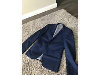 Burton suits jacket and waistcoat