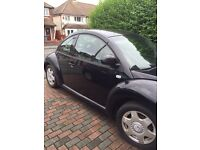VOLKSWAGEN BEETLE 2000-2003! FOR SPARES AND PARTS HEAD GASKET GONE!
