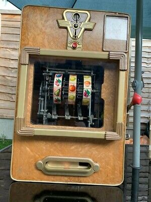 Vintage German Gunter Wolff One Armed Bandit/Slot Fruit Machine Working REDUCED*