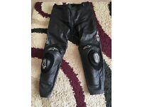 Alpinestars leather bottoms