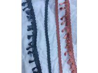 Trimming braids and tassels