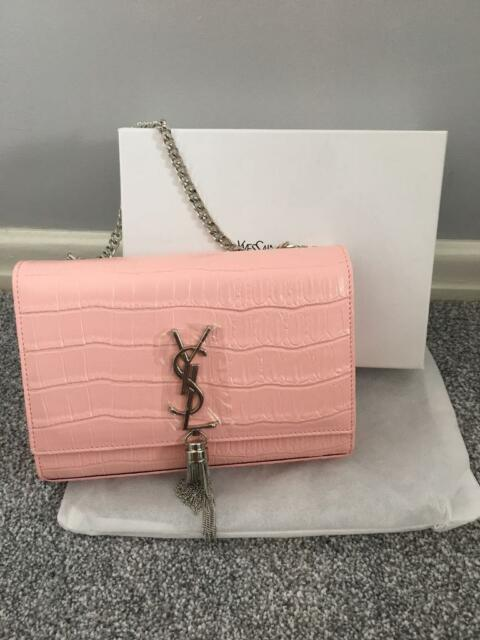 d4a37945e11 YSL pink and silver bag | in Ingleby Barwick, County Durham | Gumtree