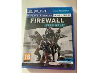 Firewall Zero Hour VR PS4 Game