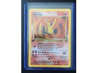 X3 Moltres 12/62 Fossil 1st Edition Mint Condition Rare Holo Pokemon Card TCG