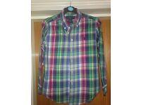 Stunning boys Ralph Lauren shirt - like new age 10-12 (boys medium)