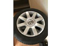Vw 5x112 alloy wheels and tyres