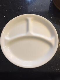 Correlle dinner plates
