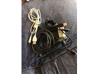 Mini USB cables