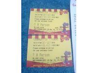 2 Tickets Gulliver's World