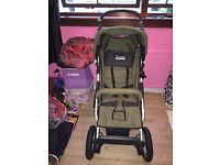 Quinny large off road Pram good clean condition