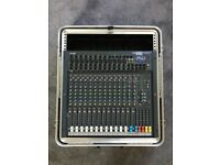 Soundcraft Spirit Folio SX & SKB 12U Mixer Case