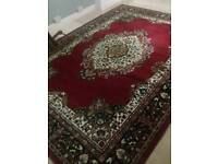 Large ornate rug