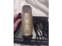 Behringer C-1U Studio Condenser Microphone