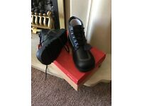 Adult Leather Kicker Boots Size 8