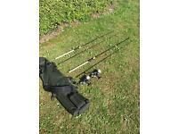 Fishing Equipment- Chub, JRC and Okuma