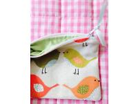 Handmade textile wallets/purses