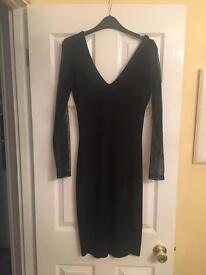 French Connection black dress size 12