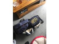 Bowling balls and bag plus accessories