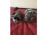 Starter motor and ortanator for ford escort