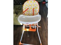 High chair mamia like new