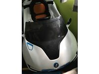 kids bmw electric car with parental control