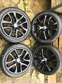 "17"" genuine Volkswagen alloys"