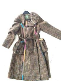 Beautiful new tweed coat by Bohemia size s/m