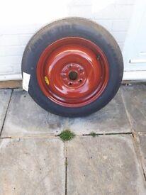 space saver spare wheel for suzuki sx4 new