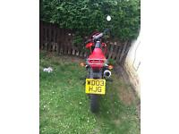 Honda xr 125 . Excellent condition . Swaps for a 125 ped .