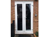 1x French doors