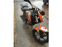 Bikes run excellent, recently had MOT had front tyre, drive chain, enquire for more details