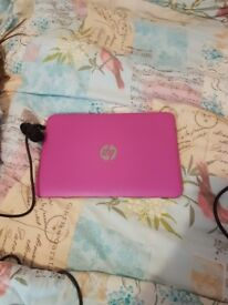 Pink notepad only been used a few times in good condition got the bag and the write charger with it